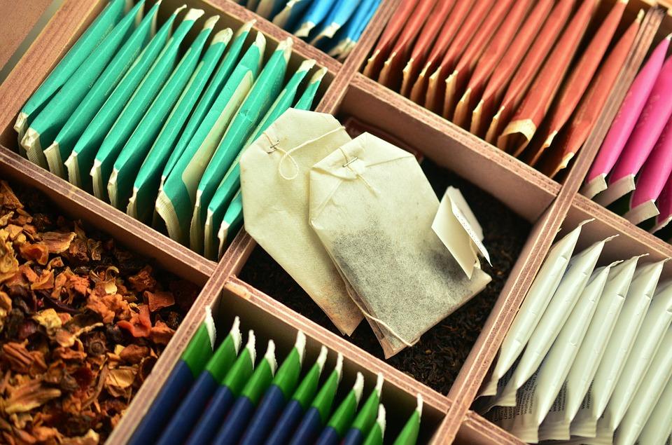 Diverse arome de ceai la plic