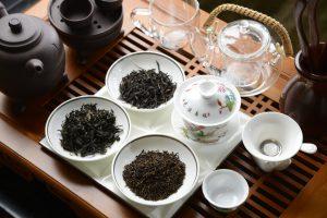 Diverse tipuri de ceai