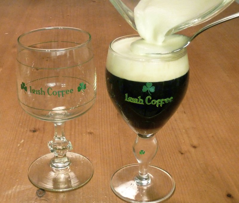 Reteta de irish coffee
