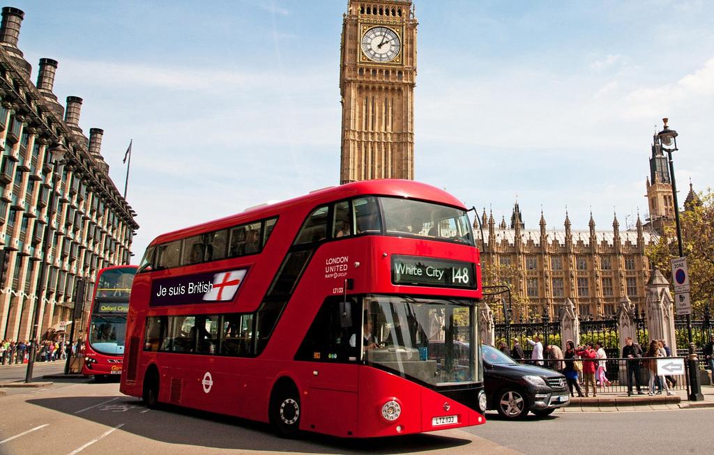 Autobuz alimentat cu cafea in Londa