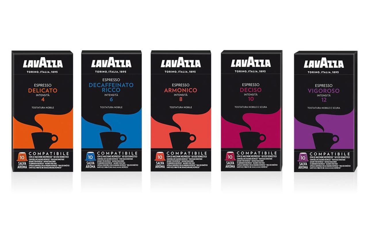Capsule compatibile Nespresso produse de Lavazza