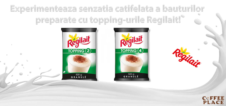 Incearca laptele granulat pentru cafea de la Regilait