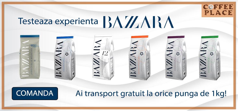 Testeaza experienta unei cafele desavarsite! Ai transport gratuit la orice punga de cafea Bazzara.