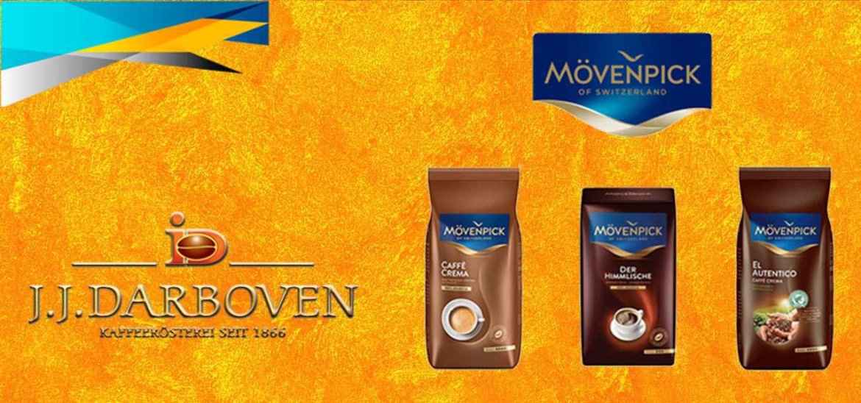 Incearca noile sortimente de cafea Darboven Movenpick of Switzerland, produse dupa o reteta de cafea originala din Elvetia.