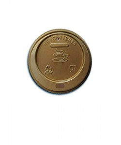 Capace pahare 8 oz (set 100 buc.) AURII
