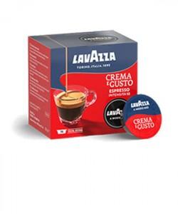 Lavazza A Modo Mio Crema e Gusto 16 capsule cafea