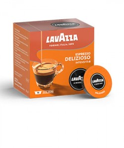 Lavazza A Modo Mio Delizioso 16 capsule cafea