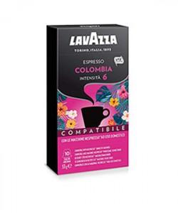Lavazza Nespresso Colombia 10 capsule cafea