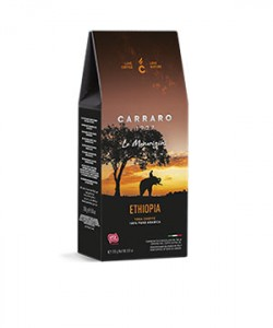Carraro Ethiopia cafea macinata 250g