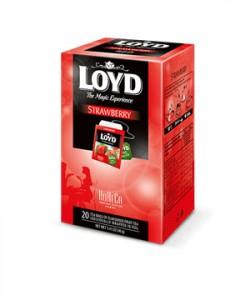 Loyd ceai Strawberry HoReCa 20 plicuri