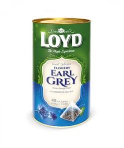 Loyd ceai Earl Grey 40 plicuri piramida