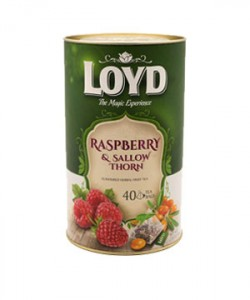 Loyd ceai Raspberry 40 plicuri piramida