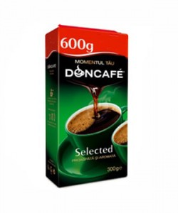 Doncafe Selected cafea macinata 600g
