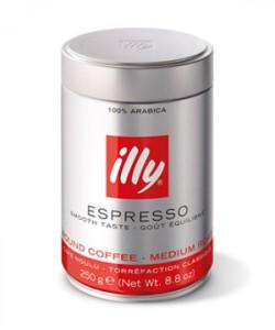Illy Espresso cafea macinata 250g