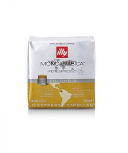 Capsule Illy Iperespresso Cube Colombia 18 capsule cafea