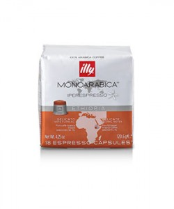 Capsule Illy Iperespresso Cube Ethiopia 18 capsule cafea