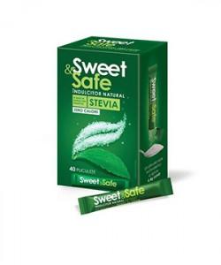 Sweet&Safe Indulcitor Stevia plicuri