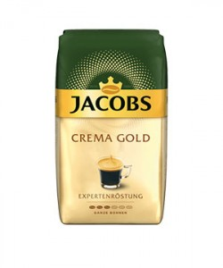 Jacobs Crema Gold Expertenrostung cafea boabe 1kg