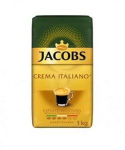 Jacobs Crema Italiano Expertenrostung cafea boabe 1kg