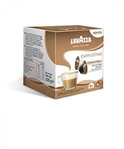 Lavazza Gusto Cappuccino 16 capsule cafea compatibile Dolce Gusto