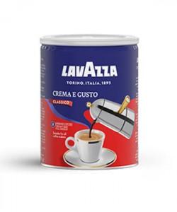 Lavazza Crema e Gusto cafea macinata cutie metalica 250g