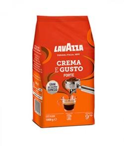 Lavazza Crema e Gusto Forte cafea boabe 1 kg