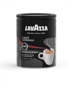 Lavazza Caffe Espresso cafea macinata cutie metalica 250g