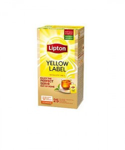 Lipton ceai Yellow Label 25 plicuri