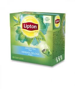 Lipton ceai verde cu menta 20 plicuri piramida