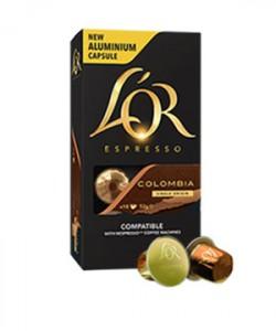 L'Or Columbia 10 capsule cafea compatibile Nespresso