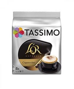 L'Or Tassimo Cappuccino 8 capsule cafea + 8 capsule lapte