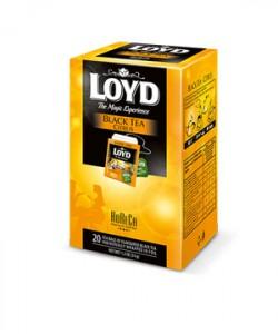 Loyd ceai Black Citrus HoReCa 20 plicuri
