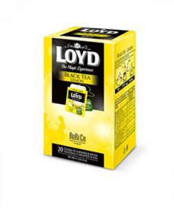 Loyd ceai Black Lemon HoReCa 20 plicuri