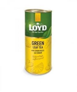 Loyd ceai frunze Green Tea, Lemon&Ginger 80g