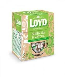 Loyd ceai piramida Green&Matcha 20 plicuri
