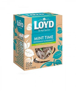 Loyd ceai piramida Mint Time 20 plicuri