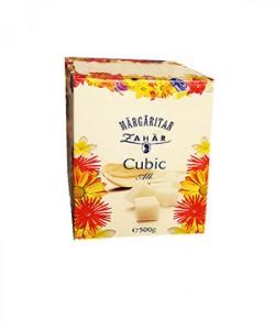 Margaritar zahar cubic alb 500g