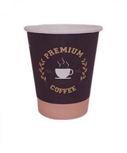 Pahare carton 7 oz automate Premium Coffee (set 50 buc.)