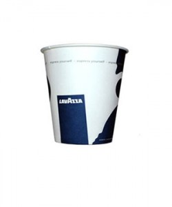 Pahare Lavazza carton 4 oz (set 50 buc.)