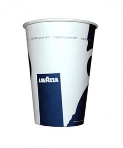 Pahare Lavazza carton 7 oz automate (set 50 buc.)