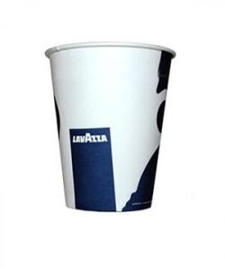 Pahare Lavazza carton 6.5 oz automate (set 100 buc.)