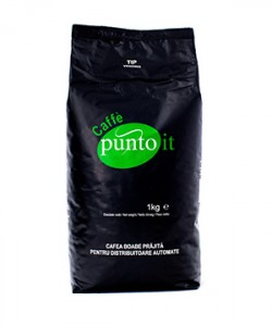 Punto It eticheta verde cafea boabe 1kg