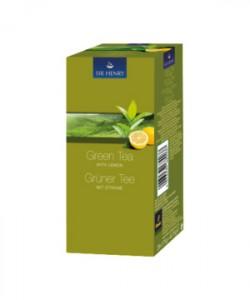 Sir Henry ceai verde cu lamaie 25 plicuri