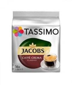 Jacobs Tassimo Caffe Crema Classico 16 capsule cafea