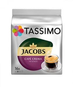 Jacobs Tassimo Caffe Crema Intenso 16 capsule cafea