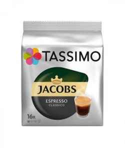 Jacobs Tassimo Espresso 16 capsule cafea