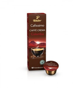 Tchibo Cafissimo Caffe Crema Colombia 10 capsule cafea