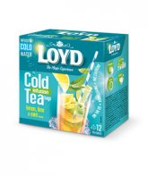 Loyd ceai rece Lemon&Lime 12 plicuri piramida