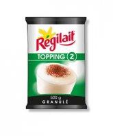 Regilait Topping 2 lapte granulat pentru cafea 500g