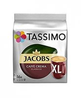 Jacobs Tassimo Caffe Crema XL 16 capsule cafea